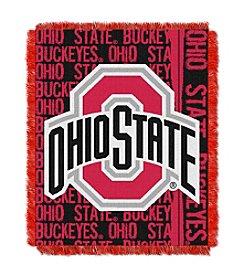 Ohio State Jacquard Throw