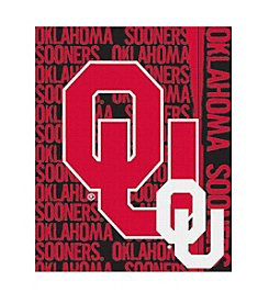 University of Oklahoma Jacquard Throw