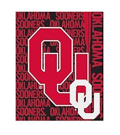 University of Oklahoma Jacquard Throw