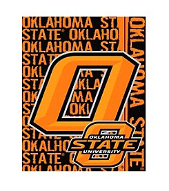 Oklahoma State University Jacquard Throw