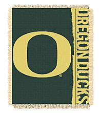 University of Oregon Jacquard Throw