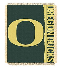 University of Oregon Jacquard Throw