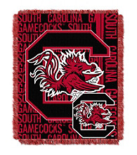 University of South Carolina Jacquard Throw