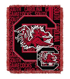 University of South Carolina Jacquard Throw