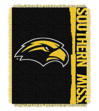 University of Southern Mississippi Jacquard Throw