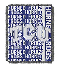 Texas Christian University Jacquard Throw