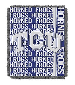 Texas Christian University Jacquard Throw
