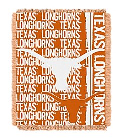 University of Texas Jacquard Throw