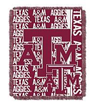 Texas A&M University Jacquard Throw