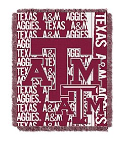 Texas A&M University Jacquard Throw