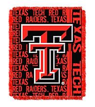 Texas Tech University Jacquard Throw