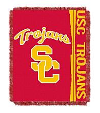 University of Southern California Jacquard Throw