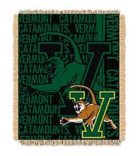 University of Vermont Jacquard Throw