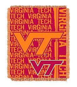 Virginia Tech University Jacquard Throw