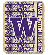 University of Washington Jacquard Throw