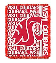 Washington State University Jacquard Throw