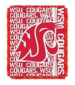 NCAA® Washington State University Jacquard Throw