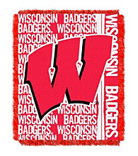 University of Wisconsin Jacquard Throw