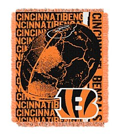 Cincinnati Bengals Jacquard Throw