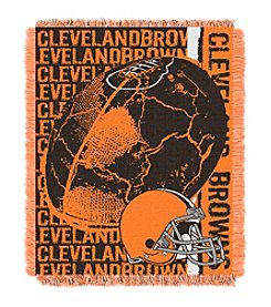 Cleveland Browns Jacquard Throw