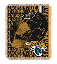 Jacksonville Jaguars Jacquard Throw