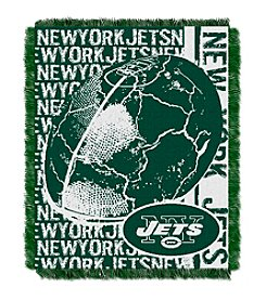 New York Jets Jacquard Throw