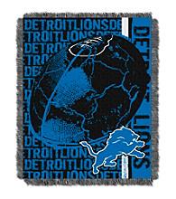 Detroit Lions Jacquard Throw
