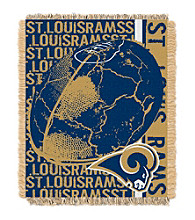 St. Louis Rams Jacquard Throw