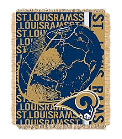 St. Louis Rams Jacquard Throw