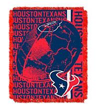Houston Texans Jacquard Throw