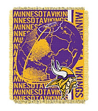 Minnesota Vikings Jacquard Throw