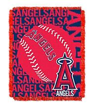Los Angeles Angels Jacquard Throw