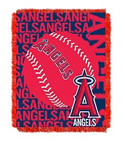 Los Angeles Angels Jacquard Throw