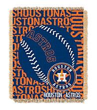 Houston Astros Jacquard Throw