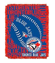Toronto Blue Jays Jacquard Throw