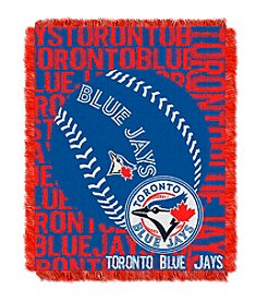 Toronto Blue Jays Jacquard Throw