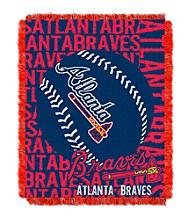 Atlanta Braves Jacquard Throw