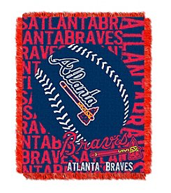 Atlanta Braves Jacquard Throw