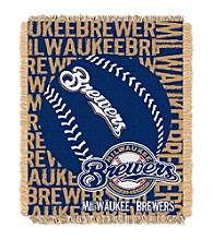 Milwaukee Brewers Jacquard Throw