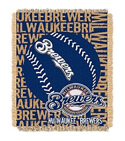 Milwaukee Brewers Jacquard Throw