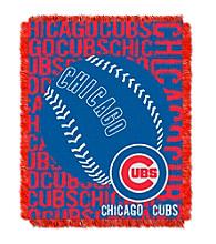 Chicago Cubs Jacquard Throw