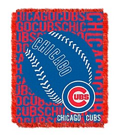 Chicago Cubs Jacquard Throw