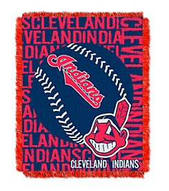 MLB® Cleveland Indians Jacquard Throw