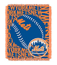 New York Mets Jacquard Throw