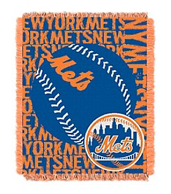 New York Mets Jacquard Throw