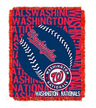 Washington Nationals Jacquard Throw