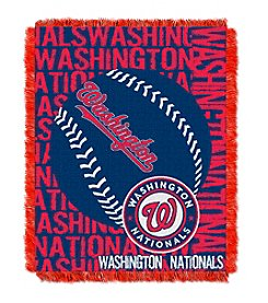 Washington Nationals Jacquard Throw