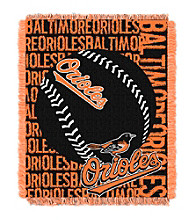 Baltimore Orioles Jacquard Throw