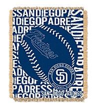 San Diego Padres Jacquard Throw