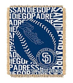 San Diego Padres Jacquard Throw